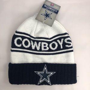 Cowboys Football Pom Beanie
